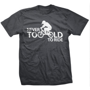 bmx-never-too-old-to-ride-bike-tshirt-gray