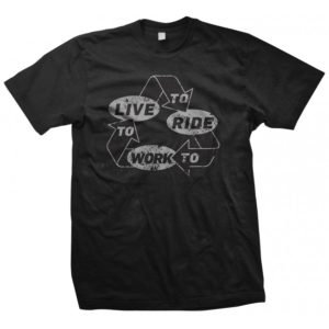 recycle-live-to-work-to-ride-bike-tshirt-black